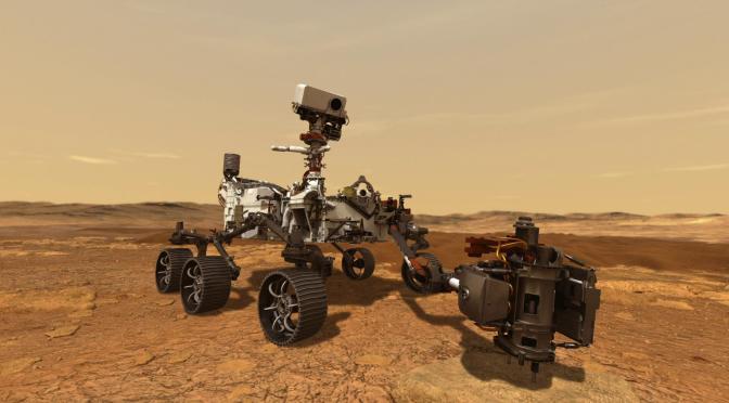 Rover de la NASA enfrentará minutos complicados antes de aterrizar en Marte