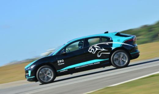 El Jaguar I-Pace establece un récord de tiempo de vuelta para los SUV eléctricos en Interlagos con neumáticos Goodyear