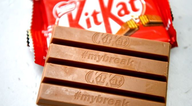 Chocolate vegano KitKat será parte de la línea de productos Nestlé en 2021