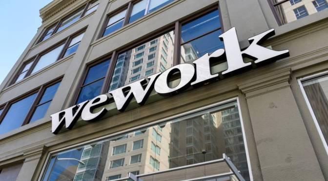 WeWork acuerda la fusión de cheques en blanco para hacerse pública