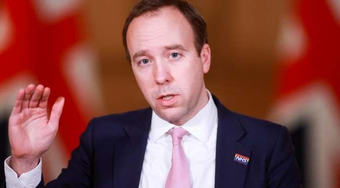 Reino Unido se acerca al sexto caso de la variante brasileña de COVID, dice el ministro de salud