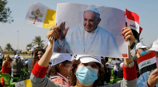 Destaca Papa Francisco que la paz es más poderosa que la guerra, en su visita a la ciudad de Mosul en Irak