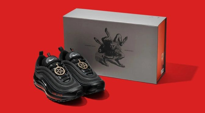 """Nike pone fin a la demanda en contra Lil Nas X  por los tenis """"Satan Shoes"""""""