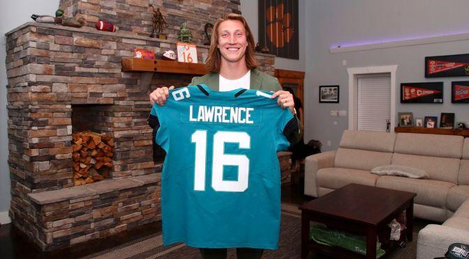 Jaguares seleccionan al mariscal de campo Trevor Lawrence como el pick no. 1 del Draft de la NFL