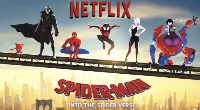Netflix y Sony firman un acuerdo de distribución para futuras películas incluyendo el Spiderverse