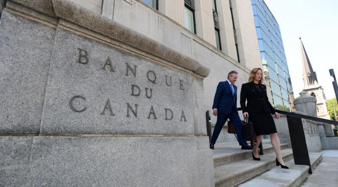 Tasa de inflación anual canadiense se duplica al 2.2% en marzo