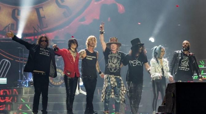 Guns & Roses pospone gira europea hasta 2022