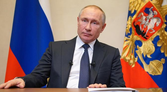 Putin pide a Occidente no meterse con los intereses de Rusia