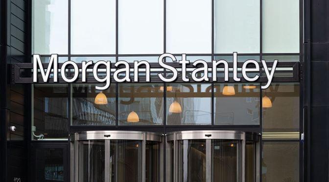 Morgan Stanley revela una pérdida de 911 millones de dólares