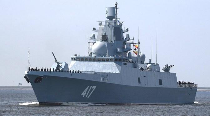 Rusia refuerza la presencia de buques de guerra en el Mar Negro mientras las tensiones de Ucrania aumentan