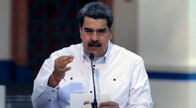 Maduro dice que Venezuela ha asegurado fondos para completar el pago de vacuna de COVAX