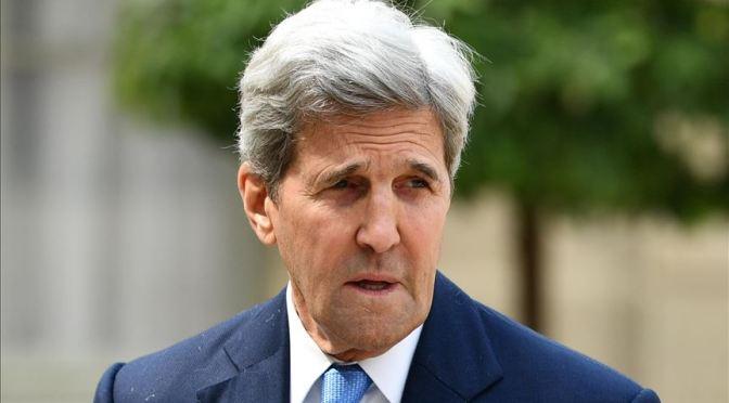 Estados Unidos espera de que pueda trabajar con China para hacer frente al cambio climático: Kerry