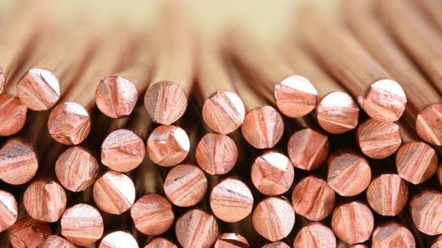 Precios del cobre alcanzan nuevo récord