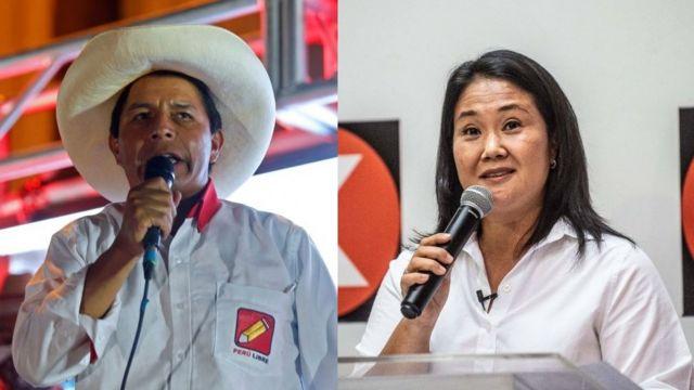 Castillo y Fujimori prometen revisar sector minero en Perú