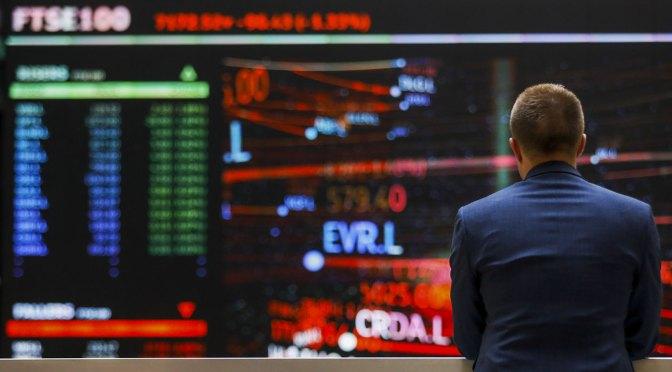 FTSE 100 se desliza al inicio de la semana