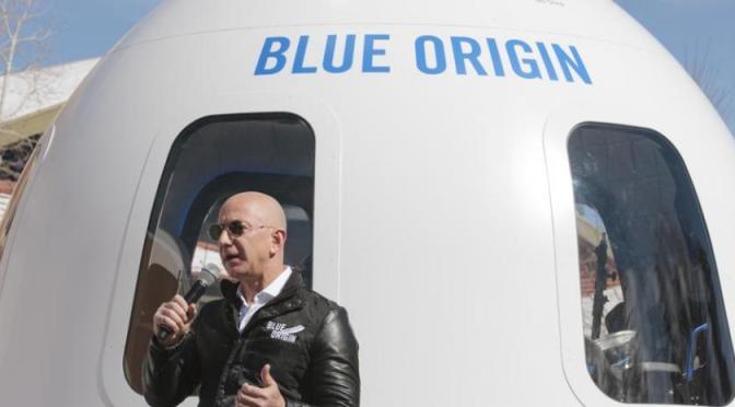 Blue Origin comienza la venta de entradas para el turismo espacial