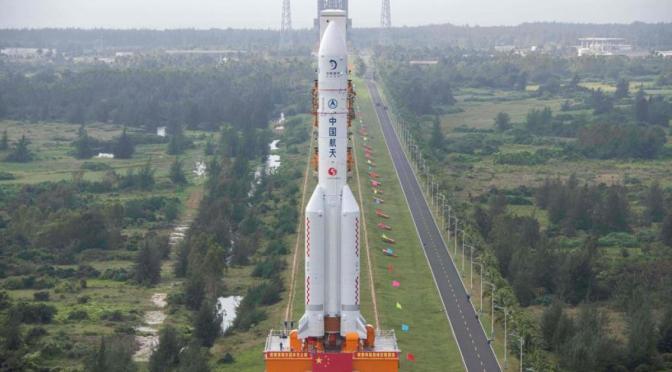 China anuncia misión a estación espacial