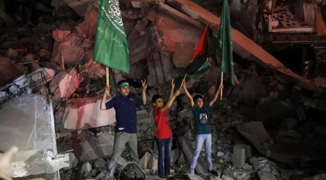 Inicia la tregua en Gaza, palestinos se dicen victoriosos