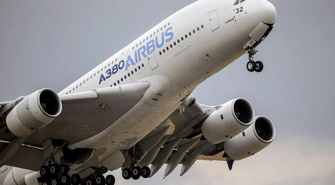 Airbus aumenta los objetivos de salida de aviones