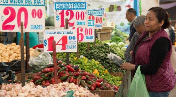Inflación de México se acelera al nivel más alto en más de 3 años