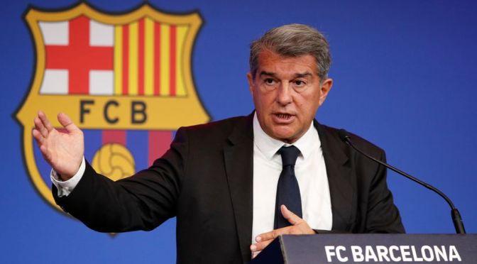 El nuevo contrato de Messi va bien, pero no está hecho aún: Laporta