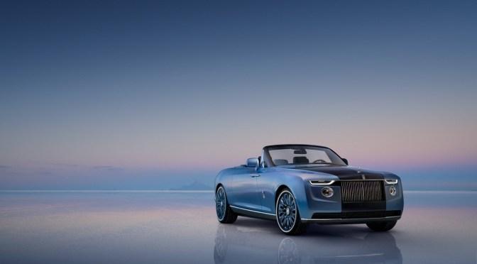 Rolls-Royce Boat Tail un contrapunto para el lujo industrializado