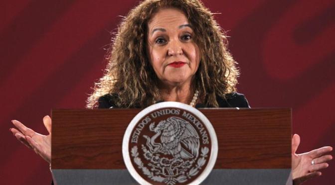 CNDH pide protección para Sanjuana Martínez, directora de Notimex