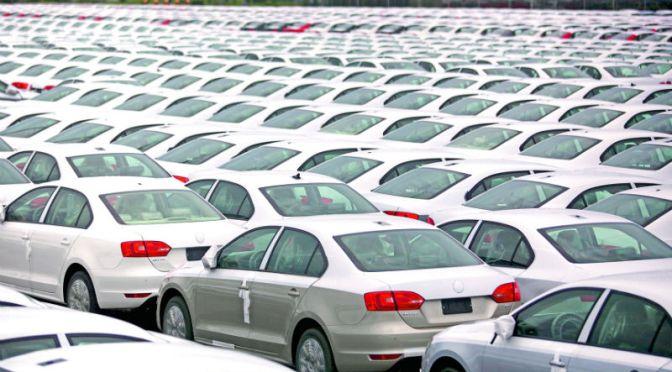 Ventas de automóviles en China aumentaron 8.6% en abril