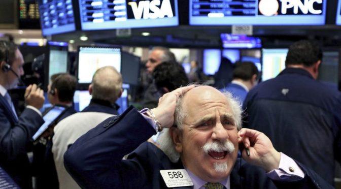 Futuros de Estados Unidos cayeron por cuarta sesión consecutiva