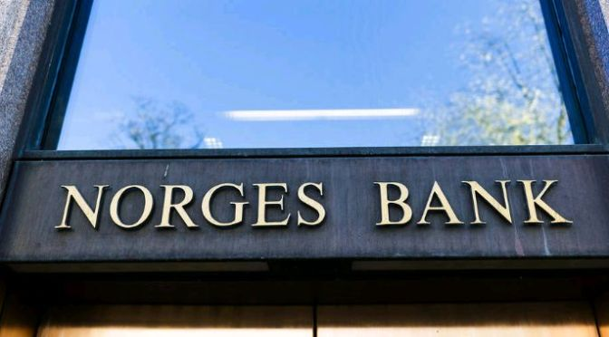 Noruega nombra nuevo supervisor de fondos de patrimonio en el banco central