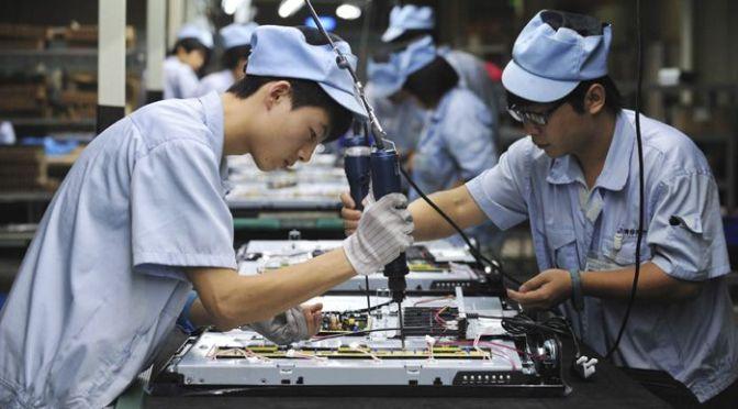 Producción industrial de China aumenta un 14.1% interanual en marzo