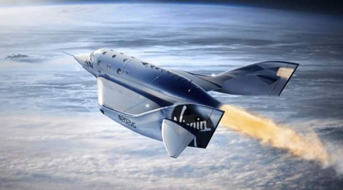 Virgin completa primer vuelo espacial tripulado
