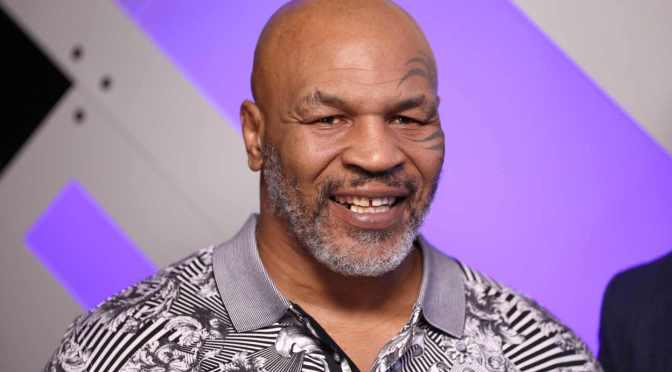 """Mike Tyson dice que los """"psicodélicos"""" le salvaron la vida"""