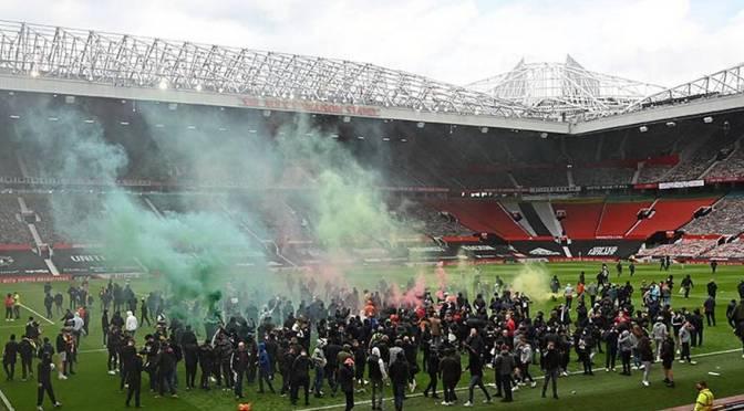 Man United castigará a los fans que cometieron actos criminales en protestas