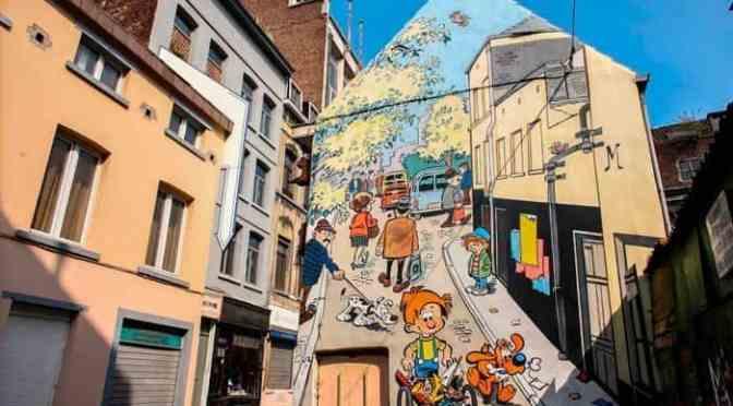 Ruta del cómic de Bruselas cumple 30 años
