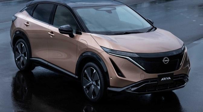 Nissan retrasa el lanzamiento del SUV eléctrico Ariya debido a la escasez de chips