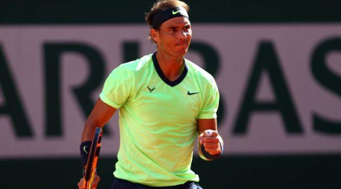 Nadal supera a Schwartzman y se clasifica a semifinales del Abierto de Francia