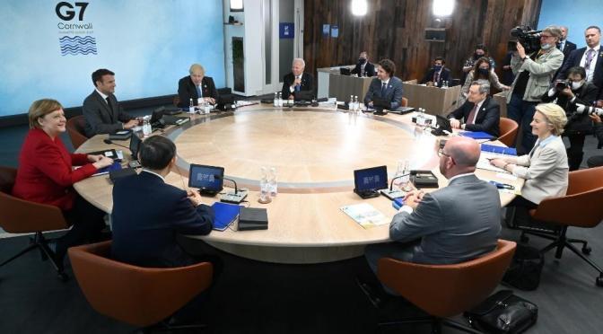 Casa Blanca dice que los líderes del G7 respaldarán el impuesto corporativo global del 15%