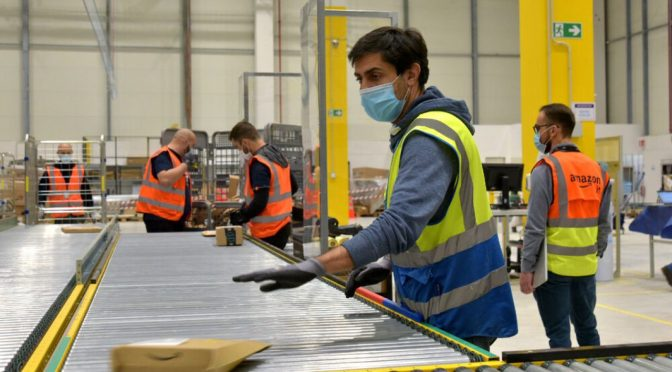Amazon creará 3,000 nuevos puestos de trabajo permanentes en Italia en 2021