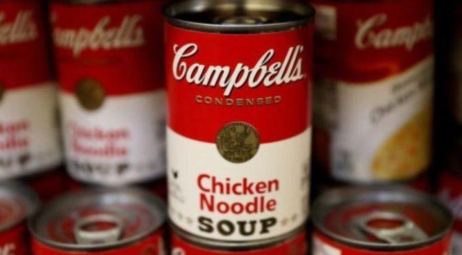 Campbell Soup reduce pronóstico de ganancias anuales