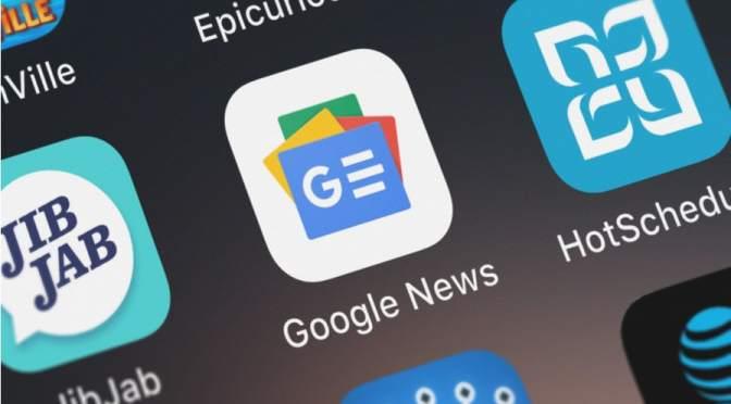 Autoridad de competencia alemana lanza sondeo en escaparate de noticias de Google