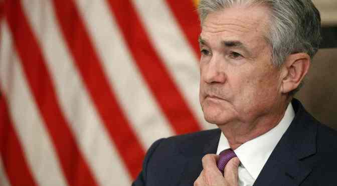 La Fed no busca establecer una política climática para Estados Unidos: Powell