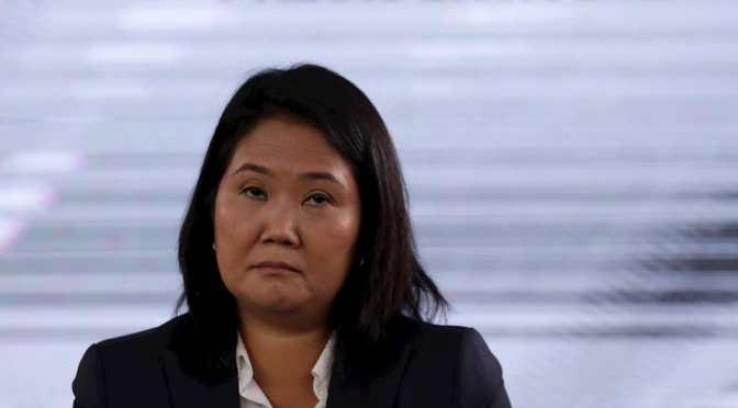 Keiko Fujimori rechaza la derrota y sostiene que aún faltan actas por resolver