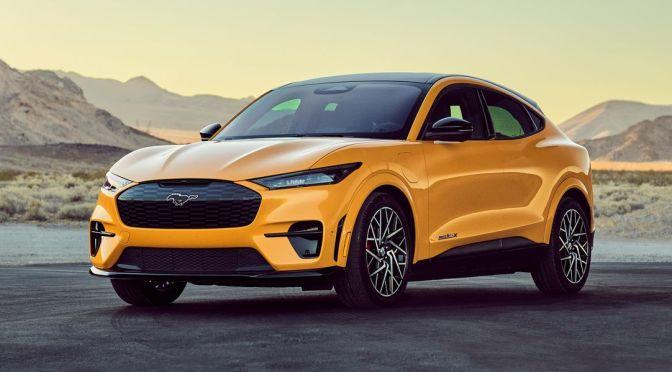 Mustang eléctrico de Ford encabeza las ventas de automóviles en Noruega durante mayo