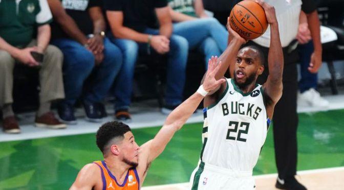 Bucks ganan y empatan la serie de las finales de la NBA