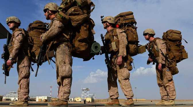 El fin de una era, Estados Unidos retira tropas de la base principal de Afganistán