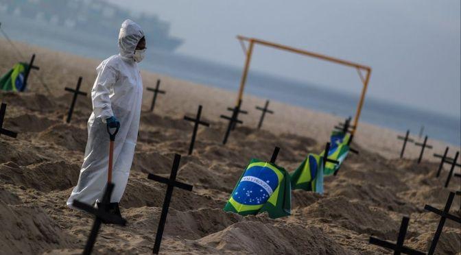 Brasil cierra julio con el menor promedio semanal de casos de Covid del año