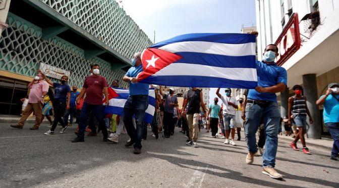 ¿Qué está pasando con la situación política en Cuba?