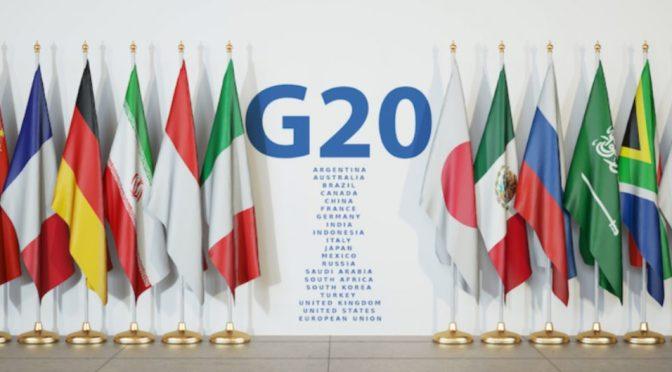 G20 firma la represión fiscal, advierte sobre las variantes de virus