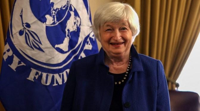 Yellen tratará de persuadir al G20 de que Congreso no bloqueará acuerdo fiscal